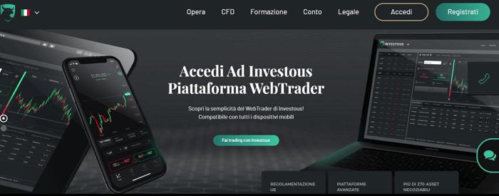 investous segnali trading