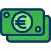 investire 100 euro icona